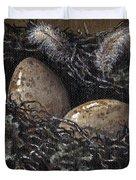 Nesting Duvet Cover by Adam Zebediah Joseph