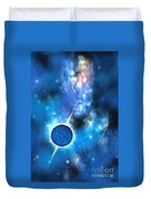 Neutron Star Duvet Cover by Corey Ford