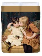 Nevermind Duvet Cover by Frederick Morgan