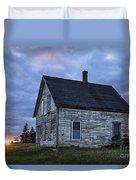 New Day Old House Duvet Cover by John Greim