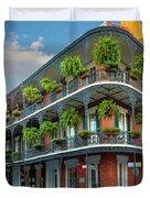 New Orleans House Duvet Cover by Inge Johnsson