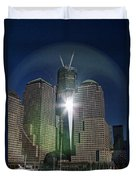New World Trade Center Duvet Cover by David Smith