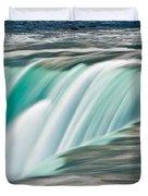 Niagara Falls Number 2 Duvet Cover by Steve Gadomski