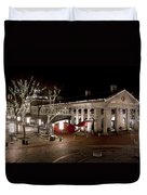 Night Market Duvet Cover by Greg Fortier