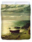 Night most glorious night thou wert not made for slumber Duvet Cover by John MacWhirter