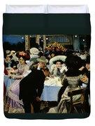 Night Restaurant Duvet Cover by MG Slepyan