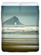 Ninety Mile Beach Duvet Cover by Dave Bowman