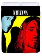Nirvana No.01 Duvet Cover by Caio Caldas