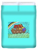 Noahs Ark Two Duvet Cover by Wayne Potrafka
