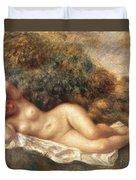 Nude Duvet Cover by Pierre Auguste Renoir