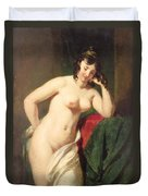 Nude Duvet Cover by William Etty