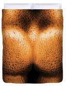 Nudist - Just Cheeky Duvet Cover by Mike Savad