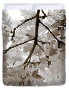 Oak Leaves Duvet Cover by Frank Tschakert