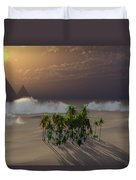 Oasis Duvet Cover by Richard Rizzo