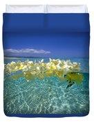 Ocean Surface Duvet Cover by Vince Cavataio - Printscapes