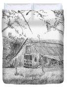 Old Barn 2 Duvet Cover by Barry Jones