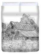 Old Barn 4 Duvet Cover by Barry Jones