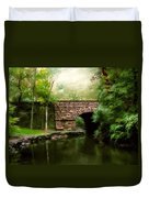 Old Country Bridge Duvet Cover by Jessica Jenney