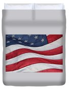 Old Glory Duvet Cover by Lauri Novak