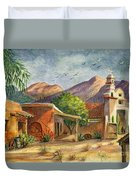 Old Tucson Duvet Cover by Marilyn Smith