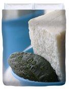 Olive Oil Soaps Duvet Cover by Frank Tschakert