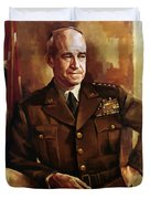 Omar Bradley Duvet Cover by War Is Hell Store
