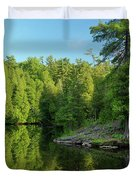 Ontario Nature Scenery Duvet Cover by Oleksiy Maksymenko