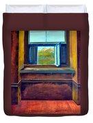 Open Window Duvet Cover by Michelle Calkins