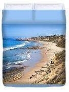 Orange County California Duvet Cover by Paul Velgos