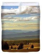 Oregon - Land of the setting sun Duvet Cover by Christine Till