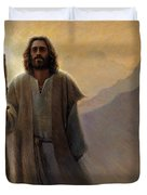 Out Of The Wilderness Duvet Cover by Greg Olsen