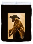 Out West Duvet Cover by Corey Ford