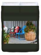 Outdoor Living Duvet Cover by Karon Melillo DeVega