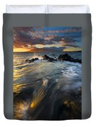 Overflow Duvet Cover by Mike  Dawson