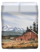 Pacific Northwest Landscape Duvet Cover by James Williamson