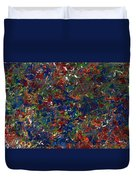 Paint Number 1 Duvet Cover by James W Johnson