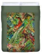Paint Number 32 Duvet Cover by James W Johnson