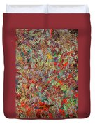 Paint Number 33 Duvet Cover by James W Johnson