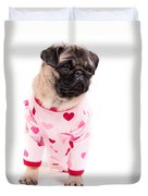 Pajama Party Duvet Cover by Edward Fielding