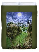 Palm Desert Sky Duvet Cover by Blake Richards