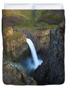 Palouse Falls Duvet Cover by Mike  Dawson