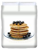 Pancakes Duvet Cover by Glennis Siverson