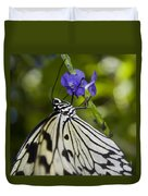 Paper Kite Butterfly Duvet Cover by Heather Applegate