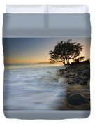PAradise Gold Duvet Cover by Mike  Dawson
