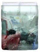 Parking Lot Duvet Cover by Mike McGlothlen