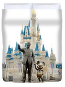 Partners Duvet Cover by Greg Fortier