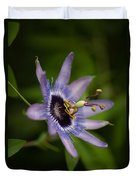 Passiflora Duvet Cover by Mike Reid
