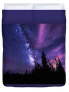 Passing Hours Duvet Cover by Chad Dutson