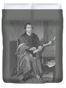 Patrick Henry, American Patriot Duvet Cover by Science Source