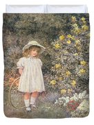 Pause for Reflection Duvet Cover by Helen Allingham